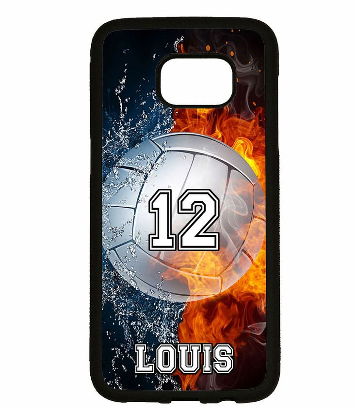 PERSONALIZED NAME NUMBER VOLLEYBALL PHONE Case For Samsung Galaxy S7 S6 NOTE 5 4 #UnbrandedGeneric