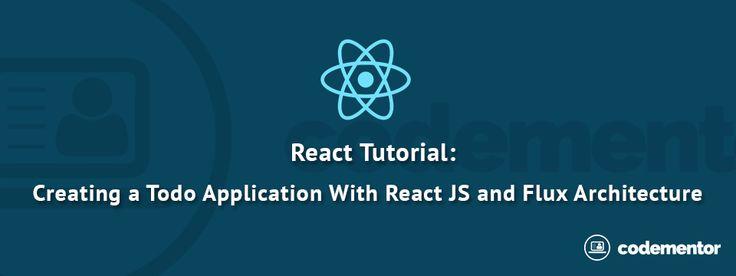 #Reactjs Tutorial: Creating a Simple Application Using #ReactJS and Flux Architecture https://www.codementor.io/reactjs/tutorial/react-js-flux-architecture-tutorial?utm_content=buffer6735a&utm_medium=social&utm_source=pinterest.com&utm_campaign=buffer