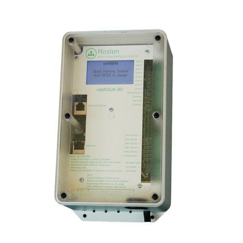 netAQUA 9D WiFi Irrigation Controller