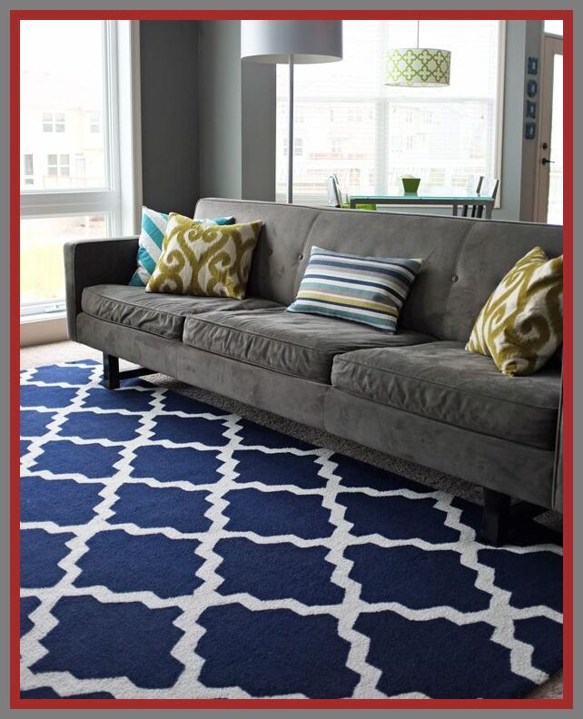 42 Reference Of Grey Couch Black Rug In 2020 Grey Couches Blue Living Room Blue Couches