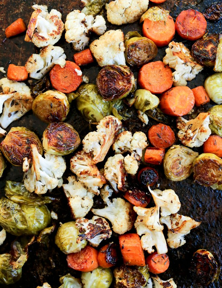 Get ready to fall in LOVE with vegetables with this recipe for Balsamic Roasted Vegetables. Caramelized and sweet, vegetables never tasted so good.
