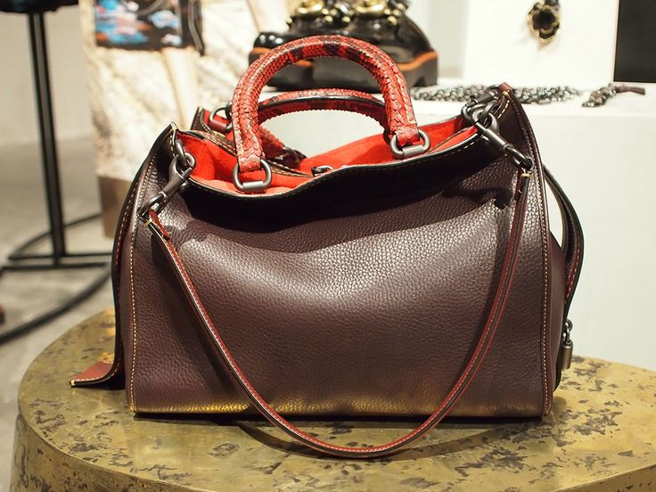 Here's Your First Look at Coach's Pre-Fall 2016 Bags