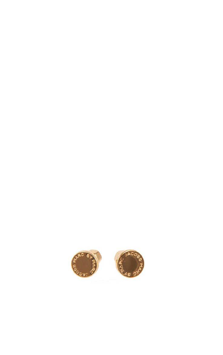 Örhänge Logo Disc Studs GOLD - Marc by Marc Jacobs - Designers - Raglady