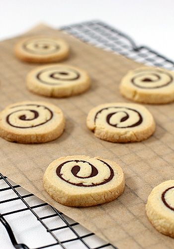 Nutella Pinwheel Cookies  from the Galley Gourmet http://www.thegalleygourmet.net/2010/12/1212010-nutella-pinwheel-cookies-well.html