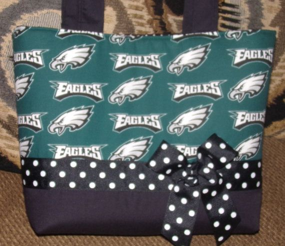 NFL Philadelphia Eagles Purse by NaniBrownDesigns on Etsy