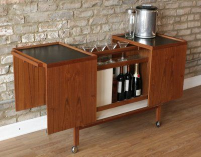 Inspirational Mid Century Mini Bar