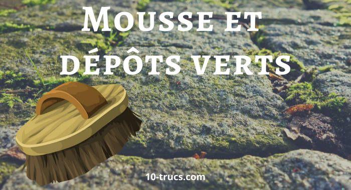 Anti Depot Vert Et Tache Verte En 2020 Nettoyer Terrasse Anti Mousse Terrasse Anti Mousse Naturel