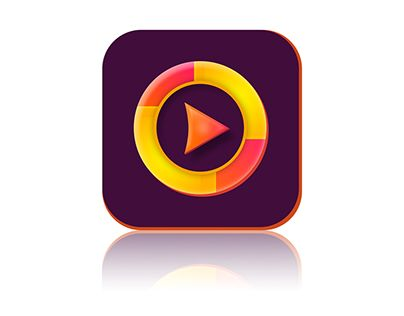 """Check out new work on my @Behance portfolio: """"Video icon - for APP apple iphone (ios) android"""" http://be.net/gallery/45479569/Video-icon-for-APP-apple-iphone-(ios)-android"""