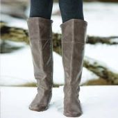 Lader Leather Boots by Elk