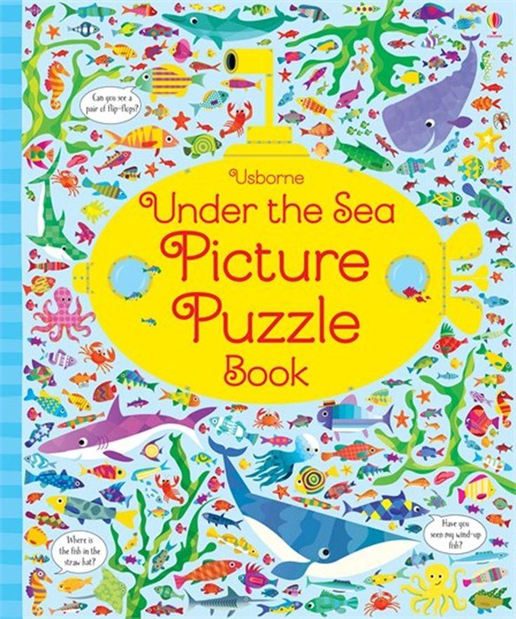 Usborne Under the Sea Picture Puzzle Book