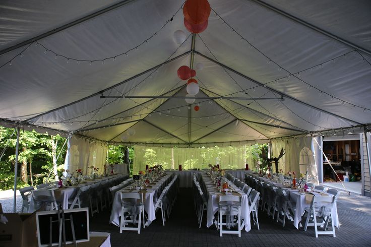 An example of a full floor tent