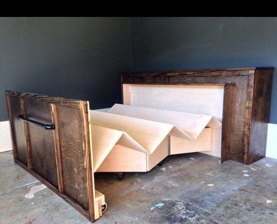 Custom Made Roll Away Bed