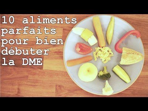 Par quels aliments débuter la DME ?