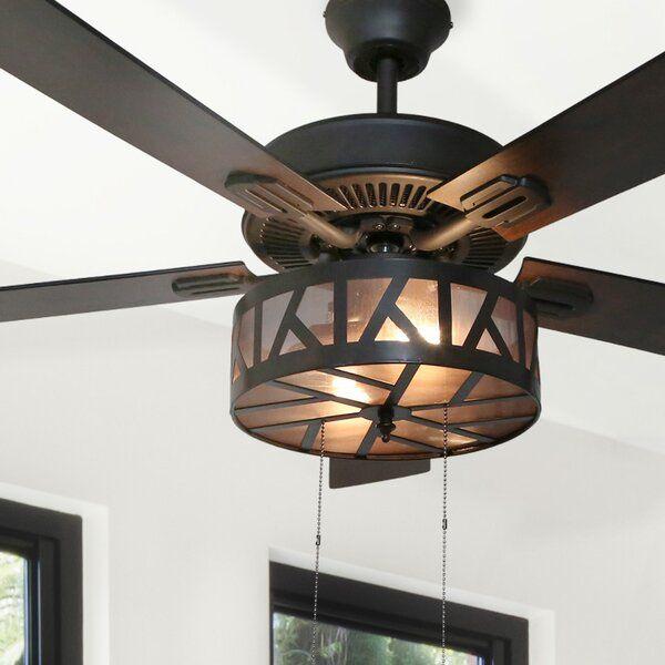 60 Indoor Outdoor Metal And Wood Ceiling Fan Wood Ceiling Fans Modern Ceiling Fan Unique Ceiling Fans