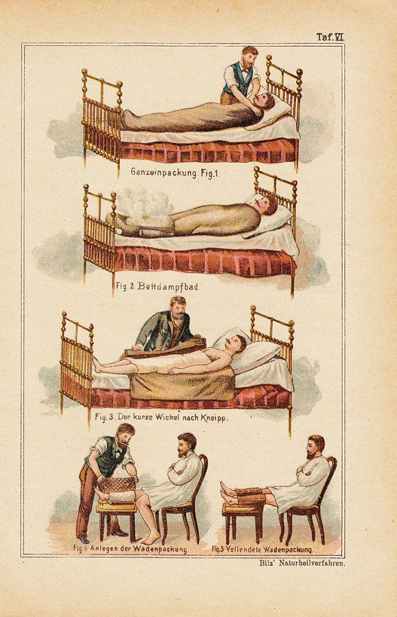 1897 Victorian MEDICAL print, DOCTOR cares, medical visit men. 115 years old antique print