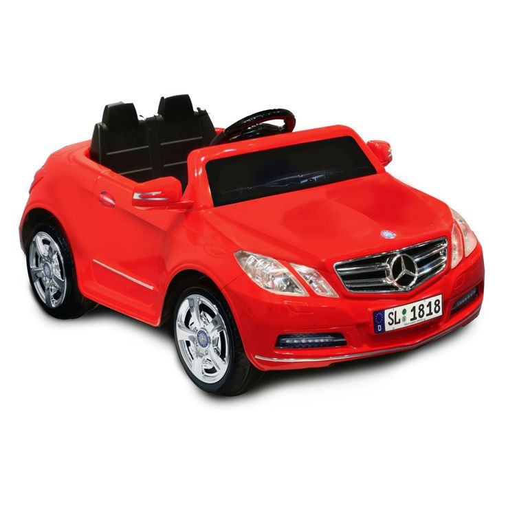 Kid Motorz Mercedes Benz E550 Battery Powered Riding Toy - Red - 0770