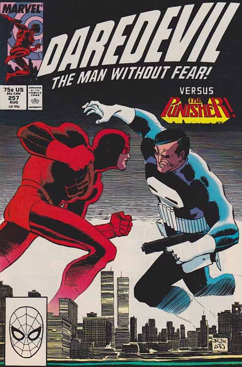 "Daredevil (Matthew Michael ""Matt"" Murdock) is a fictional character, a superhero in comic books published by Marvel Comics. The character was created by writer-editor Stan Lee and artist Bill Everett, with an unspecified amount of input from Jack Kirby, and first appeared in Daredevil #1 (April 1964)."