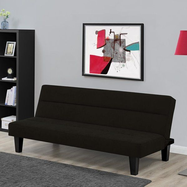 Minimalistic Design Ideal For Small Es This Futon Transforms Easily Into A Lounger And
