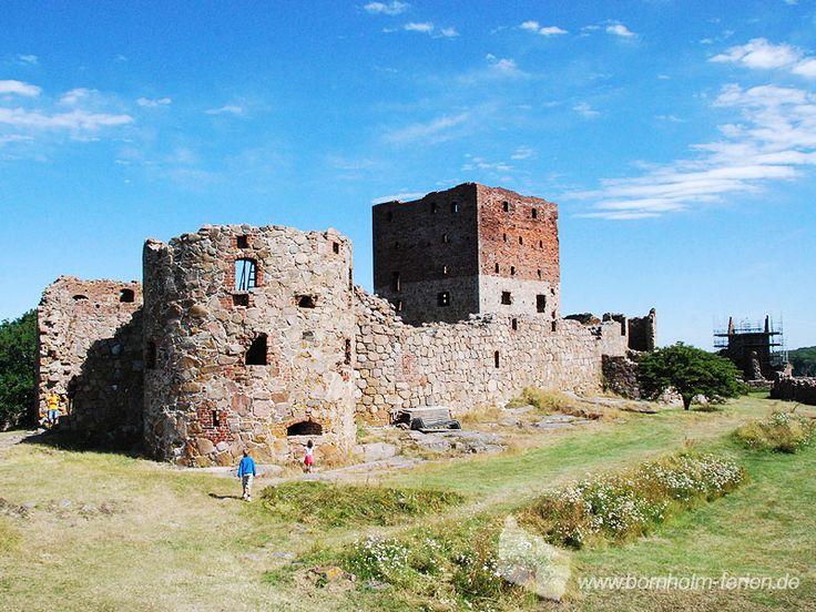 Burgruine Hammershus, Bornholm #burg #ruine #hammershus #bornholm