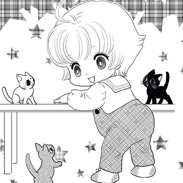 以前描いた猫マンガの扉絵。画像整理してたら気がついたんですけど、子どもと猫とって最強の組み合わせ(笑)  #cat #manga #猫 #children #こども #もとp #イラスト #illustration #マンガ #ねこぷに #かわいいfukudamotoko2017/09/08 02:35:32