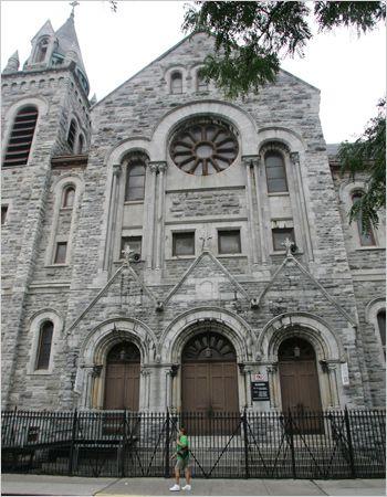 East Harlem's Holy Rosary Church