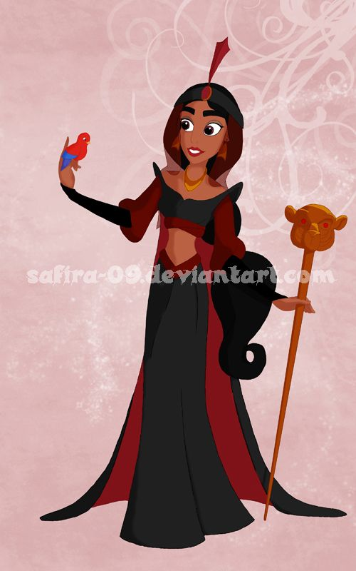 Jasmine as Jafar: Villains Princesses Jasmine, Disney Be, Disney Ish, Disney Aladdin, Disney Princesses, Disney 3, Villains Princesses 2 Jasmine, Disney Dreamworks, Disney Childhood