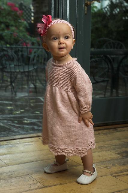Ravelry: Baby Dress pattern by Vanessa Ewing