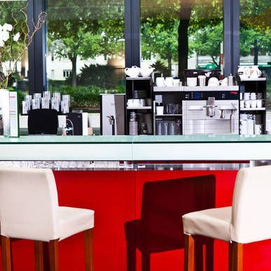 Hotelbar im Hyperion Hotel Basel