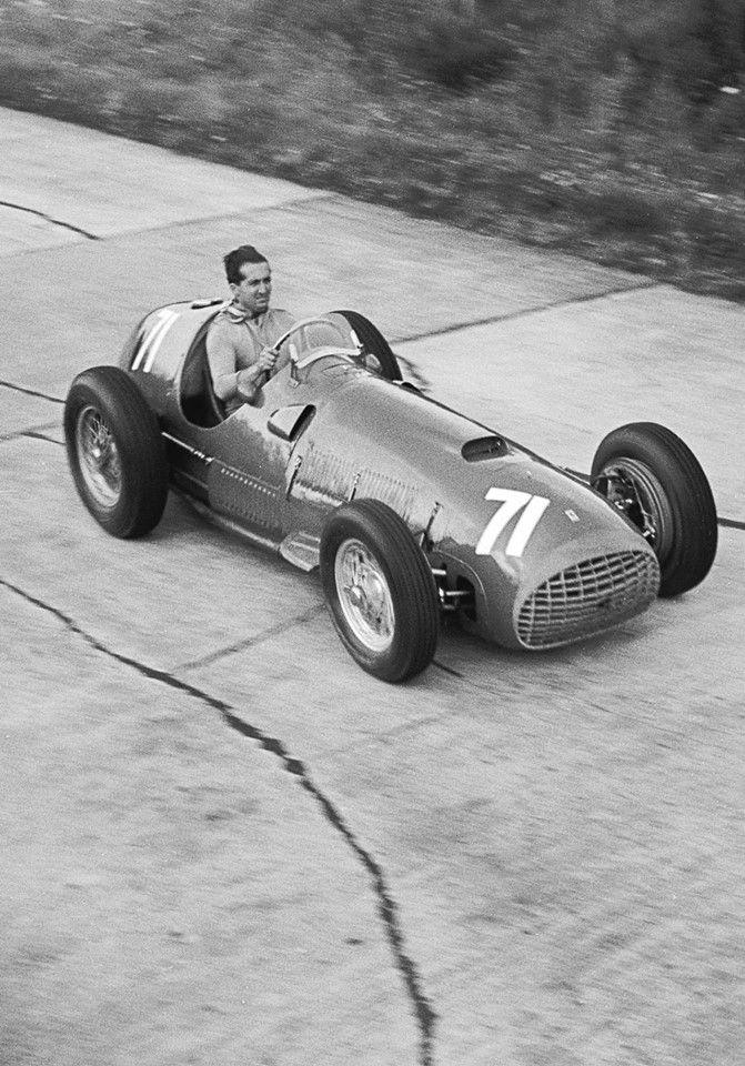 Ferrari  Driver Alberto Ascari