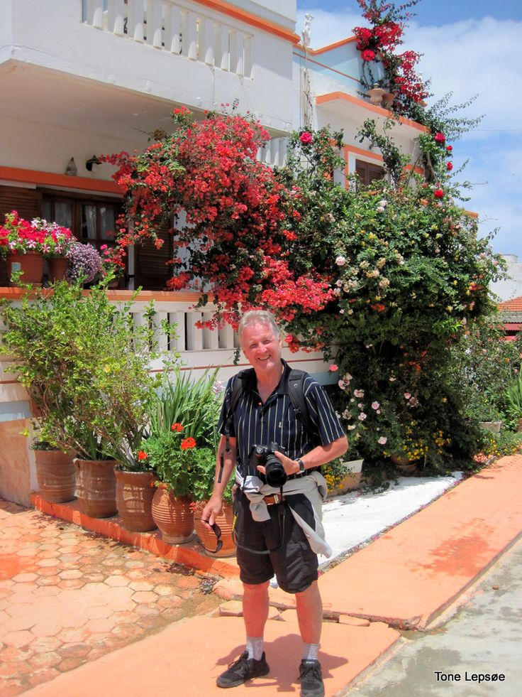 My husband Olav in Crete, Greece may 2016. TONE LEPSOES PICTURES:
