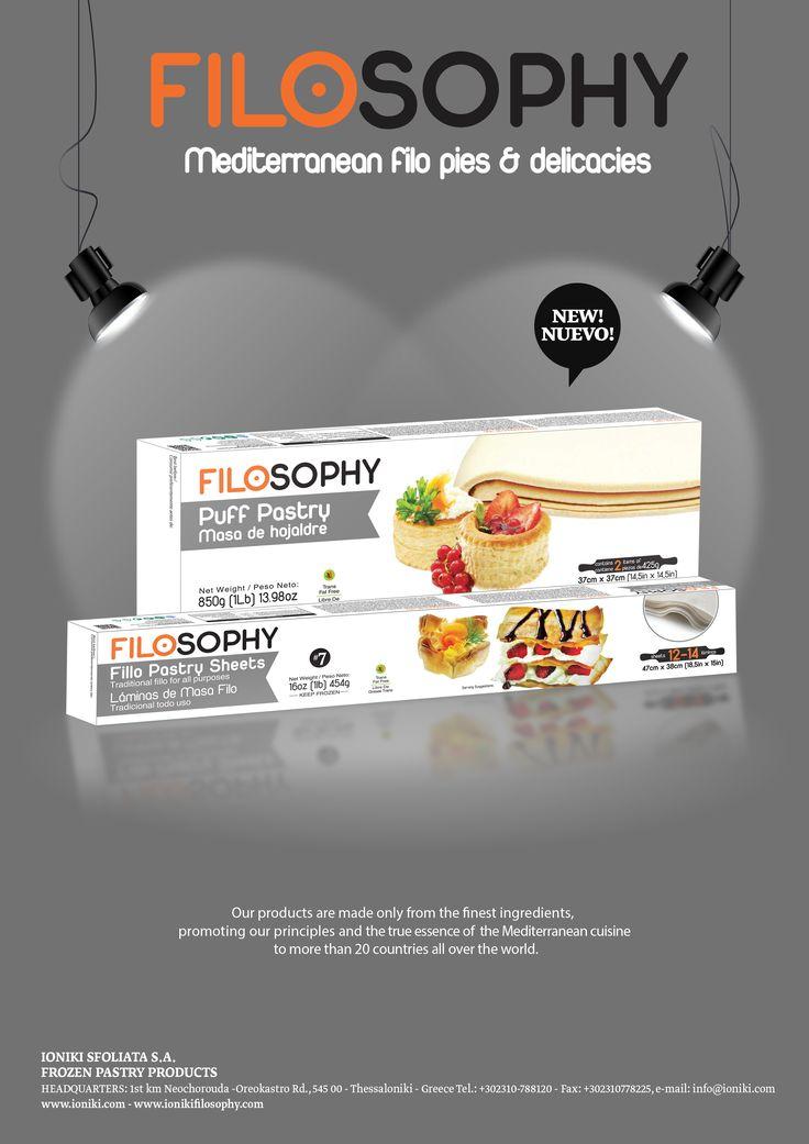 FILOSOPHY - Mediterranean filo pies & delicacies