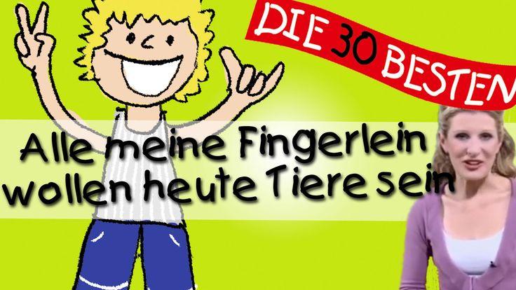 """In diesem Video von """"Alle meine Fingerlein"""" erklärt Simone Sommerland alle Bewegungen zu diesem Kinderlied. Simone ist auch die Sängerin der 30 besten CD Ser..."""