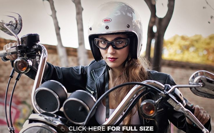 Pin By Mona Mae On Backgrounds: Pretty Motorcycle Girl Wallpaper
