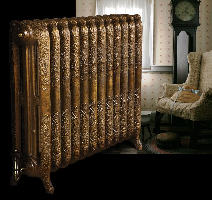 Image result for antique gold radiator paint