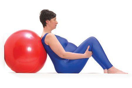 5 positions gagnantes avec le ballon lors de l'accouchement