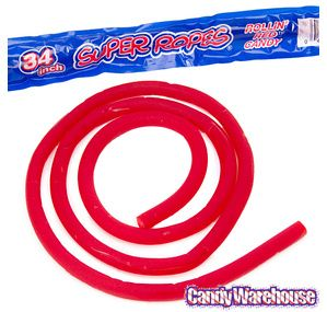 Just found Red Licorice Super Ropes Candy: 15-Piece Box @CandyWarehouse, Thanks for the #CandyAssist!