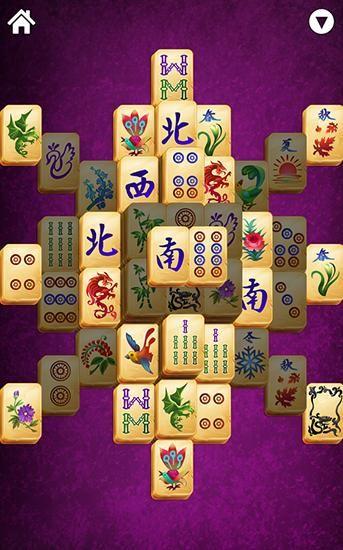 Kostenloses Android-Game Mahjong Solitär: Titan. Vollversion der Android-apk-App Hirschjäger: Die Mahjong solitaire: Titan für Tablets und Telefone.