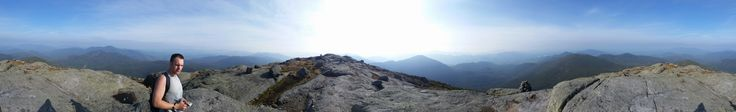 Veiw from the summit of Mt marcy