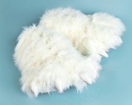 9f05fc4c188 Polar Bear Paw Slippers i 2019