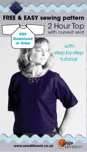 2 hour top free sewing pattern