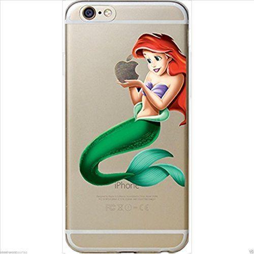 Disney Princesse souple transparent pour Apple iPhone 5/5S, 5 C, 5, et 6/6S (Ariel, iphone 5/5s): – Matériau: TPU souple – Facile à…