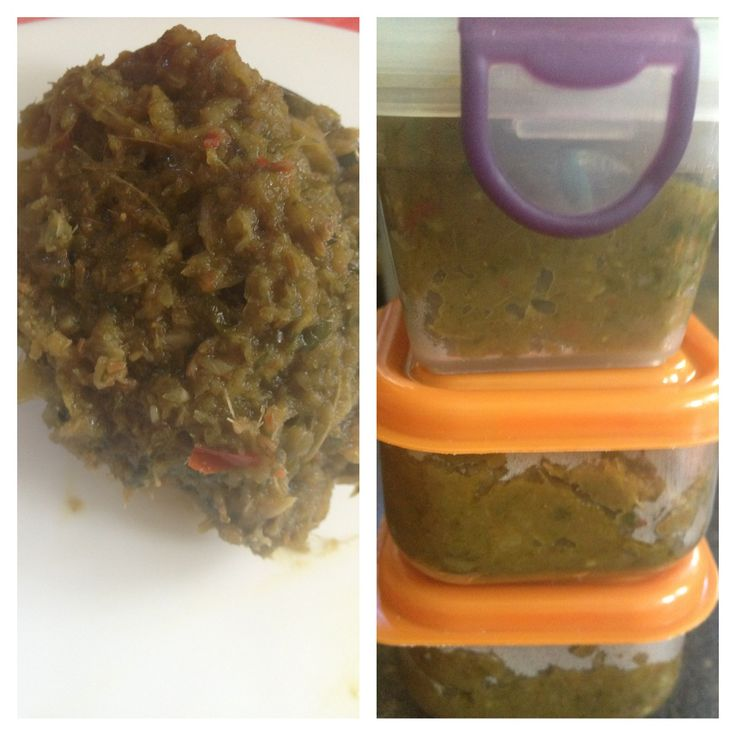 Mmm curry paste ready to freeze in serving size portions