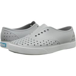 sale Native Shoes - Miller (Pigeon Grey/Shell White) Slip on Shoes