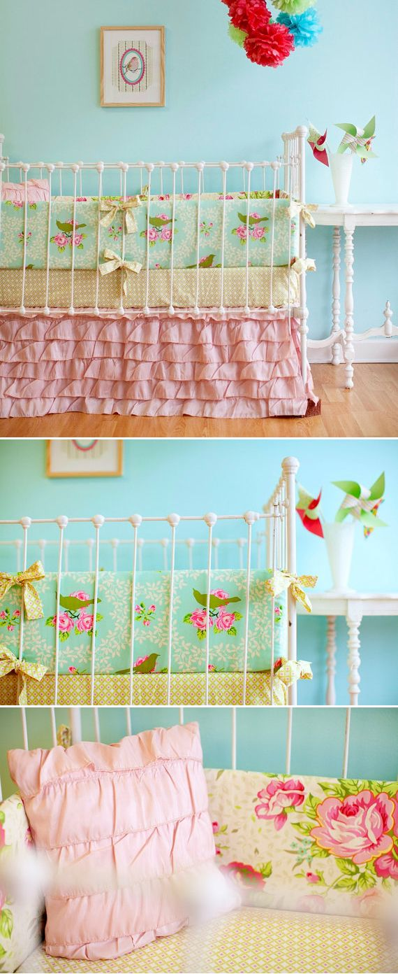 //: Sweet, Beds Skirts, Wall Color, Cribs Skirts, Baby Girl Bedding, Baby Rooms, Girls Nurseries, Girls Rooms, Baby Girls Beds