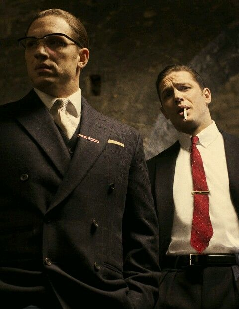 Kray Twins. Tom Hardy & Tom Hardy in Legend