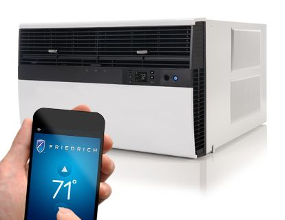 AC units remotely to turn them on or off, create schedules and more, all from your computer or smartphone.