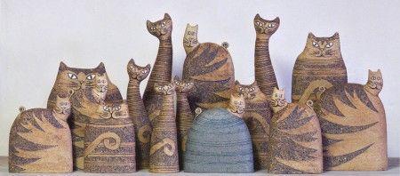 upomínkové předměty dřevene a hliněné kočky - Hledat Googlem