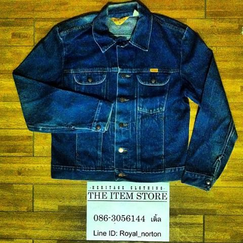 ขาย Rustler retro denim jacket size M อก 38-40 สภาพfadeมาแล้ว สวยจัด Made in mexico ราคา 1,250 บาท EMS 50 บาท #rustler #vintage #vintagejacket #vintageworkwear #vintagedenim #denim #jacket #mexico #BKK #Thailand #ชุมทางสยามยิปซี #ขาย #ของดีราคาถูก #มือสอง #western #siamgypsy #theitemstore