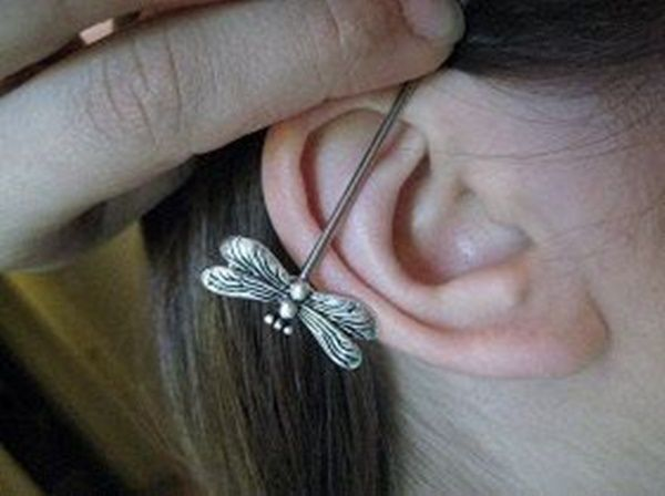 150+ Industrial Piercing Examples, Jewelry, Pain, Cost, Healing cool
