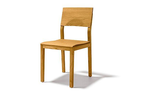 s1 Stuhl mit flexibler Rückenlehne